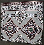 Restposten!!! 6 bunte Keramikfliesen Tamesna - spanische Wandfliesen