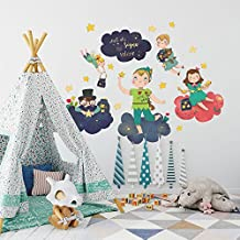 Adesivi Murali Peter Pan.Amazon It Adesivi Murali Peter Pan Kina