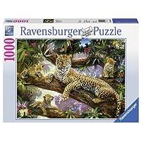 Ravensburger-19148-Stolze-Leopardenmutter Ravensburger Puzzle  19148 – Stolze Leopardenmutter – 1000 Teile -