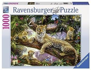 Ravensburger PR-191482 Puzzle Puzzle - Rompecabezas (Puzzle Rompecabezas, Animales, Niños y Adultos, Leopard Family, Leopardo, Niño/niña)