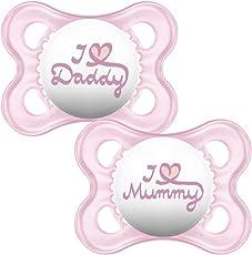 MAM Stil I Love Mummy und Daddy Schnuller _ PARENT