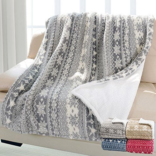 Wonderful, snuggly blanket! Great price for the quality of the blanket.