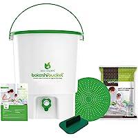 Bokashi Bucket Indoor Composer 30 Liters (White and Green)