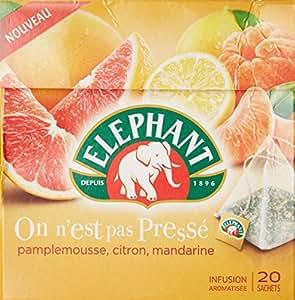 Elephant Infusion On N'Est Pas Presse 20 Sachets 38g