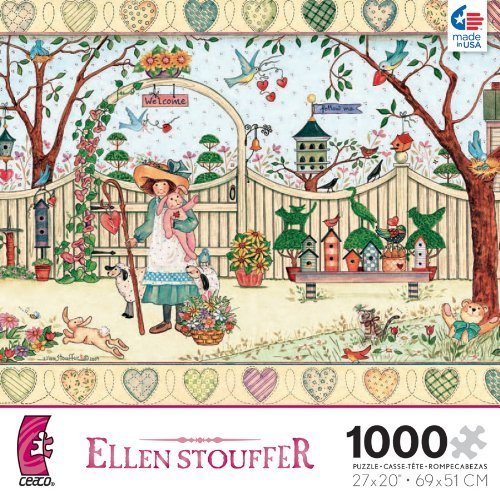 ellen-stouffer-my-friends-1000-piece-jigsaw-puzzle-by-ceaco-english-manual