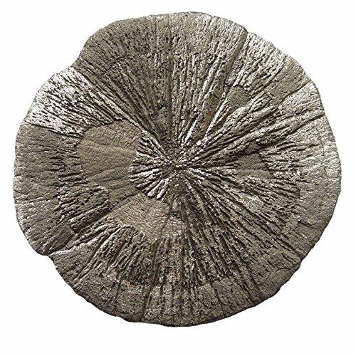 Preisvergleich Produktbild Pyritsonne aus den USA gute Qualität schöner goldener Glimmer Größe ca. 8 - 9 cm.(3723)