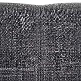 Mendler Esszimmerstuhl HWC-A50 II, Stuhl Lehnstuhl, Retro 50er Jahre Design ~ Textil, grau - 6