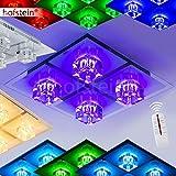 Deckenlampe mit Fabrwechsler LED und Fernbedienung