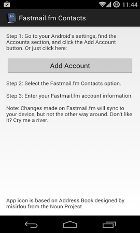 Fastmail fm Contacts: Amazon co uk: Appstore for Android