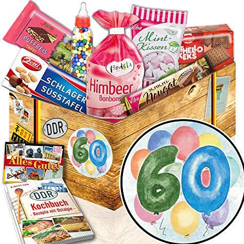 Korb | DDR Suessigkeiten-Box mit Puffreis-Schokolade, Liebesperlenfläschchen, Othello Keks Wikana uvm. ()