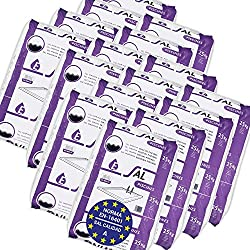 Pack de 400 Kg (16 Sacos de 25 kg.) ENISAL Sal Especial Piscinas - Cumple con la Norma Europea EN 16401/A (Sal Calidad A para Piscinas de electrólisis Salina)