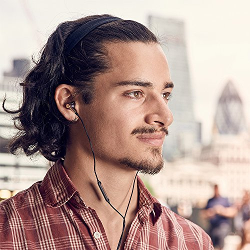 1MORE E1001 Triple-driver Hi-Fi Kopfhörer In-Ear Ohrhörer Hi-Res Audio mit Mikrofon und Fernbedienung Kompatibel mit iOS und Android (golden) - 8