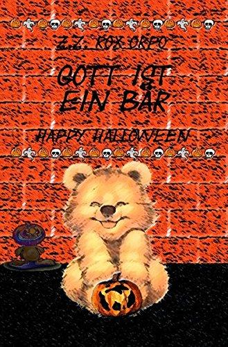 Gott ist ein Bär Happy - Halloween-z-bar