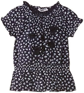 3Pommes Baby (Mädchen 0-24 Monate) Bluse TUNIC, Gr. 68 (Herstellergröße:6 Months), Blau