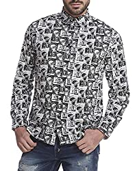 Jack & Jones Mens Casual Shirt (5713021817834_Black_XX-Large)
