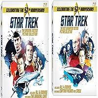 Star Trek: All 10 Movies Original Motion Picture Collection &Star Trek: 50th Anniversary The Next Generation Motion Picture Collection Region free Bluray