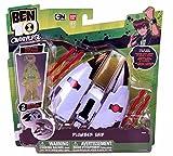 Ben 10 - 32726 - Omniverse - Plumber Ship - with exclusive Crystal Ben Figure