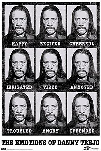 Close Up Danny Trejo Poster Emotions (57cm x 86,5cm) + Ü-Poster