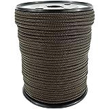 PP Seil Polypropylenseil SH 3mm 100m Farbe Braun (0124) Geflochten