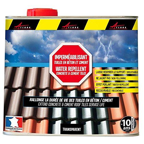 Arcafuge–wasserabweisende Imprägnierung für das Dach, für alle porösen Materialien
