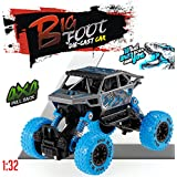 Jumbo Energy Race Four-Wheel Drive Pull Back Action Toy Car (1:32 Scale Pull Back Car) With 4 Wheel Independent Suspension (Grey::Blue)
