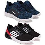 SWIGGY Sports (Walking & Gym Shoes) Running Washable Shoes for Kid Pack of 2 Combo(O)-1650-1648