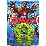 Marvel Avengers Polar decke/Bettüberwurf, Fleece Kinder Kinder Jungen Bettwäsche Hulk Iron Man Thor Captain America