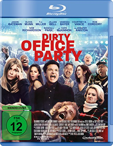 Dirty Office Party - Unrated Version [Blu-ray] Dell Blu Ray Disc