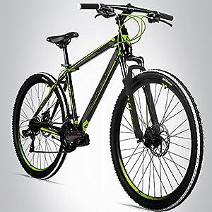 Bergsteiger Canberra 26 Zoll Mountainbike, geeignet ab 160 cm,...