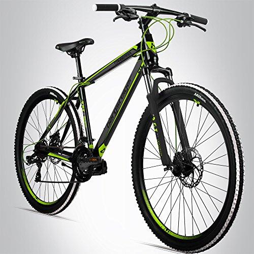 Bergsteiger Canberra 26 Zoll Mountainbike, geeignet ab 160 cm, Scheibenbremsen, Shimano 21 Gang-Schaltung, Gabel-Federung, Jungen-Fahrrad & Herren-Fahrrad (Scheibenbremsen Für Mountainbike)