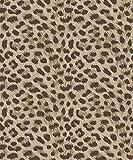 Fine Decor FD42469 Tapete mit Leopardenmuster, Braun/goldfarben