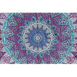 Tapiz de mandalas hecho a mano. Gama tapices baratos.