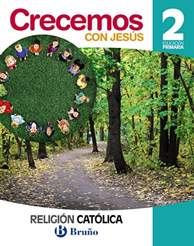 Religión católica Crecemos con Jesús 2 Primaria - 9788469609521