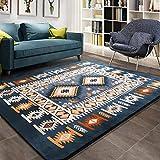 FD2LB1NVL Tapis de sol de style méditerranéen pour le thé / salon / chambre...