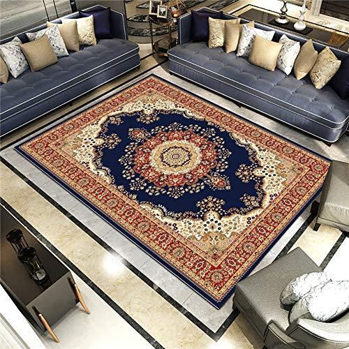 QKa Teppiche für Wohnzimmer Schlafzimmer Innenbereich, Teppiche Dekor Dekorative Teppiche für Mädchen Jungen Wohnheim Esszimmer, Bodenmatte EUR und US Style Teppich 5-Fuß x 7-Fuß,27 -