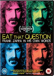 Eat That Question - Frank Zappa [DVD] [2016]
