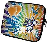 6 Zoll eBook-Reader  Schutzhülle - sehr hochwertige & edel verarbeitete eReader Tasche aus wasserfesten Neopren mit eingenähter Doppelnaht