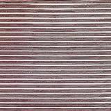 Schiebegardinen Flächenvorhang Gardinenstoff Vorhangstoff Meterware für Gardinen, Vorhänge, etc. - Blickdicht Panelo Sunna Wash 50cm Uni Rot