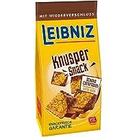 Leibniz Knusper Snack Schoko Cornflakes 150 g - original Butterkeks mit Vollmilch-Schokolade - knackiger Snack für…