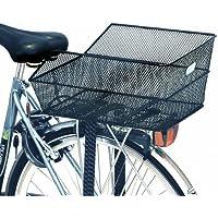 Basil–Cestino per bicicletta Centro bambini, Bambini, Fahrradkorb Cento, Black, Taglia (Centro Telaio Di Montaggio)