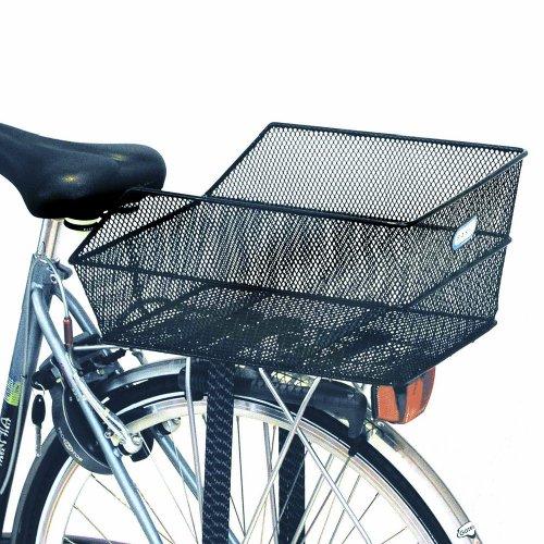 Basil BAS11116 Panier arrière pour vélo Adulte Unisexe Noir