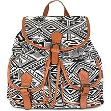 47663cd3ae3b6 styleBREAKER Rucksack Handtasche mit trendigem Ethno Muster