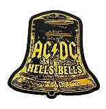 AC/DC Aufnäher - Hells Bells Cut Out - AC/DC Patch - Gewebt & Lizenziert !!