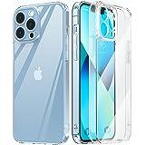 MATEPROX Hoesje compatibel met iPhone 13 Pro Max Case Stootvaste Beschermhoes Helder Crystal Telefoonhoesjes voor iPhone 13 P