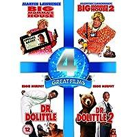 Big Momma's House / Big Momma's House 2 / Dr Dolittle / Dr. Dolittle 2 (4 Dvd) [Edizione: Regno Unito] [Edizione: Regno Unito] prezzi su tvhomecinemaprezzi.eu