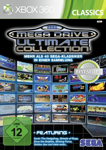SEGA Mega Drive Ultimate Collection [Xbox Classics] (Sonic The Hedgehog 2 Xbox)