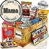 Beste Mama + DDR Schokoladenset + Geschenk zum Geburtstag