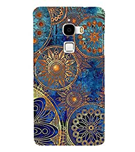 ifasho Designer Phone Back Case Cover LeTv Le Max :: LeEco Le Max ( Green Blue Pattern )