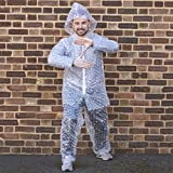Monsterzeug Luftpolsterfolie Anzug, Karneval Kostüm Bubble Wrap Costume, Knallfolie Ganzkörperkostüm Fasching, Luftpolster Folie Verkleidung Ganzkörperanzug