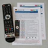 Abbildung HbbTV4You Service-Fernbedienung V2.0 Plus für Samsung KU-Serien zur Freischaltung von PVR und TimeShift bei KU6079 KU6099 KU6179 KU6459 KU6479 KU6509 KU6519